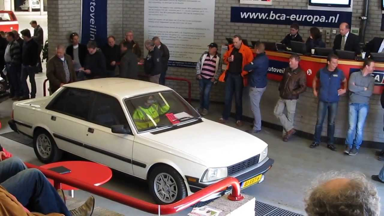 Auctioning a Peugeot 505 Turbo GTI 2.2 automatic @ BCA classic car ...