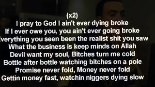 French Montana - Devil Wants My Soul Lyrics (on screen)