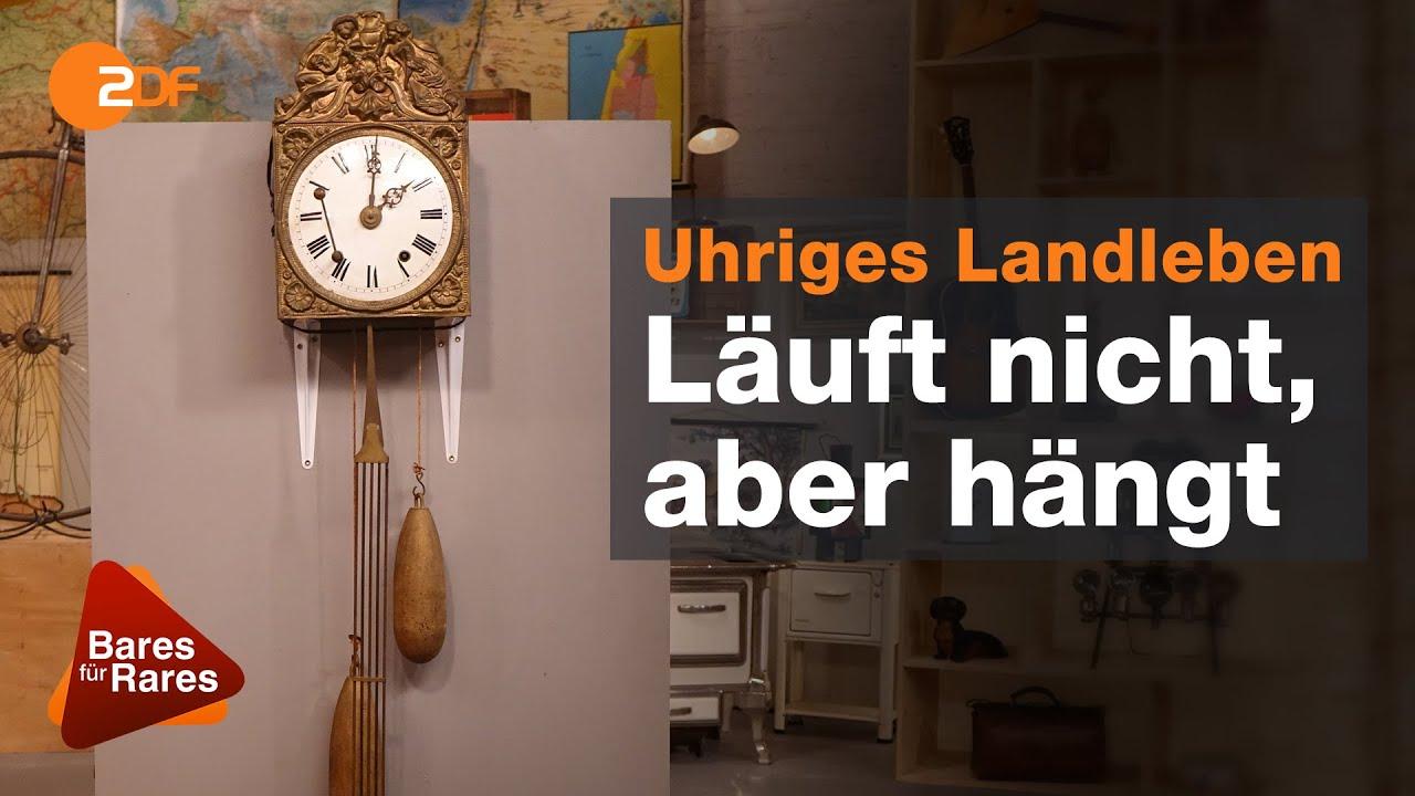 Wolfgangs Uhrenkunde: Zwei Schläge erfordern zwei Theorien   Bares für Rares vom 13.08.2020