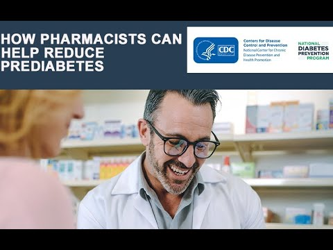 How Pharmacists Can Help Reduce Prediabetes