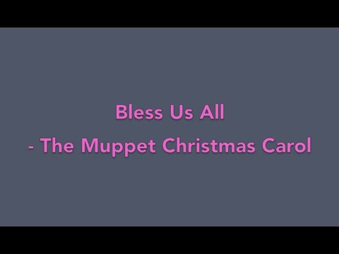 Bless Us All - The Muppet Christmas Carol (Piano Cover)