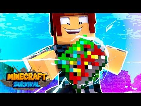 Minecraft Survival #11 - MINÉRIOS FÁCIL !! MELHOR ITEM DO MINECRAFT !!