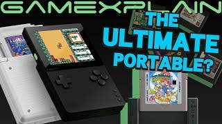 Analogue Pocket Announced! A Portable That Plays Game Boy, GBA, Game Gear, & More Games + TV Out!