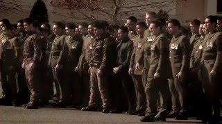 ЖЕСТЬ!!!!!!Прощание на похоронах генерала новозеландской армии по древним традициям