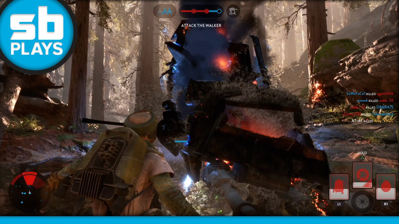 Star Wars Battlefront - Survivors of Endor Gameplay