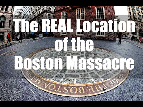 Where Did The Boston Massacre Take Place?