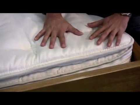 Legacy Ivory Pillowtop Hardside Waterbed Cover   YouTube