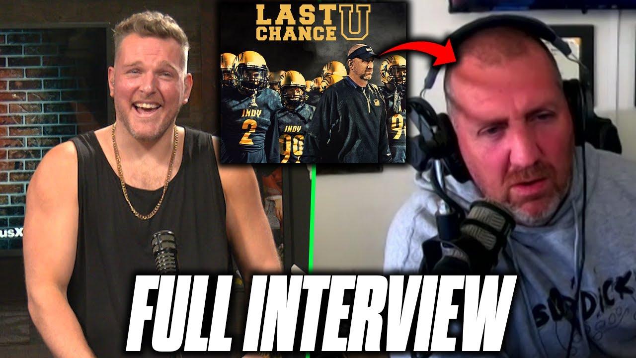 Download Pat McAfee Interviews Last Chance U Coach Jason Brown