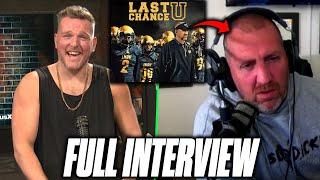 Pat McAfee Interviews Last Chance U Coach Jason Brown