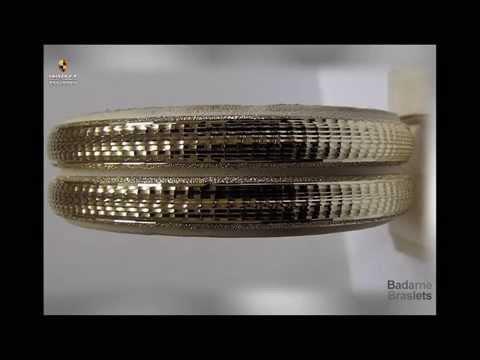 женские круглые золотые браслеты из золота