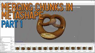 Photogrammetry / 3d scaฑning - How to merge chunks in Agisoft Metashape