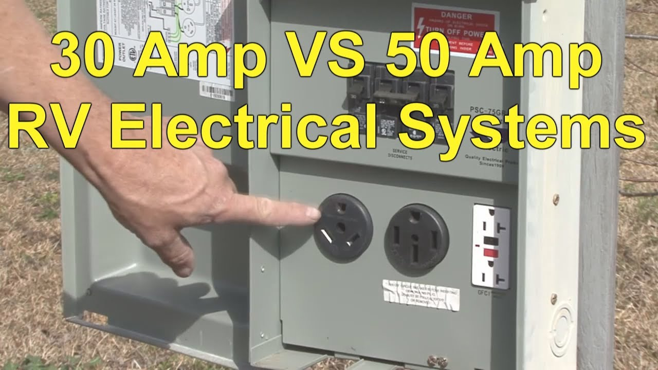 rv 30 amp electrical system vs rv 50 amp electrical system [ 1280 x 720 Pixel ]