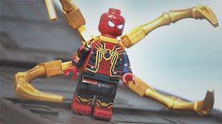 Lego Avengers Infinity War New York Battle Part 3 Unlock 17A Iron Spider suit Lego Stop Motion