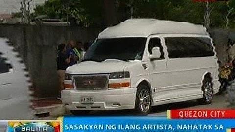 BP: Sasakyan ng ilang artista, nahatak sa clearing operations ng MMDA sa QC