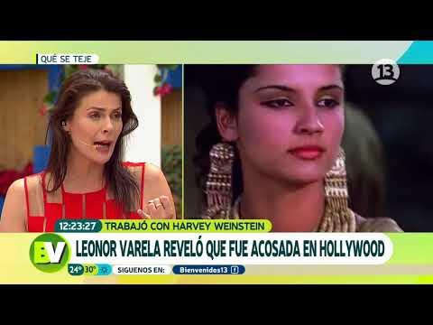 Leonor Varela reveló que fue acosada en Hollywood  Bienvenidos
