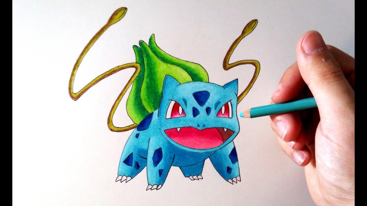Aprende a Dibujar a Bulbasaur en Directo con ArteMaster - Pokemon ...
