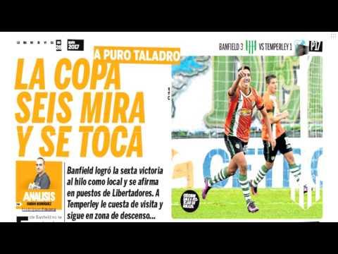 Banfield clasificado a la Copa Libertadores