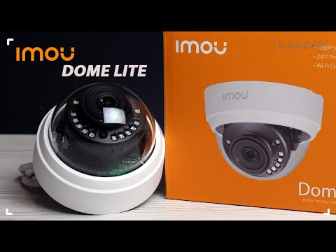 Купольная FullHD камера IMOU Dome Lite (Dahua IPC-D22P) - обзор, подключение, пример видео.