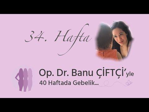 Op. Dr. Banu Çiftçi'yle 40 Haftada Gebelik - 34.Hafta