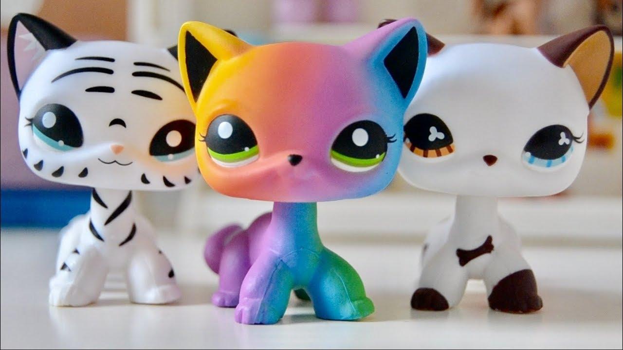 littlest pet shop cats # 19