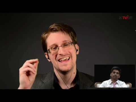 Edward Snowden on Donald Trump, Obama