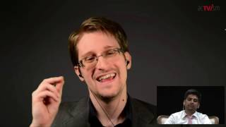 Edward Snowden on Donald Trump, Obama's Presidency, Activism & Liberty & his life in Ex