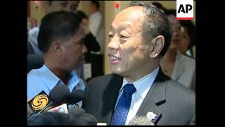 Leaders arrive for ASEAN conference