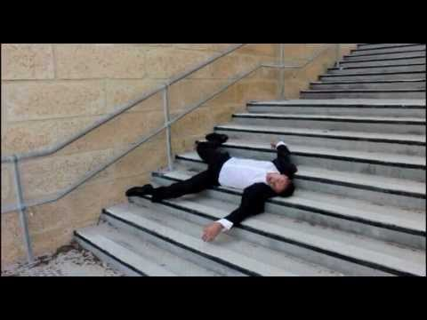stair fall