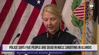 US: Police says five people are dead in mass shooting in Illinois thumbnail