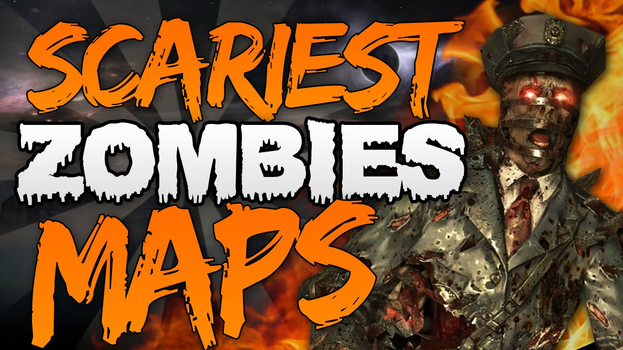 "The ""Top 5 SCARIEST Zombie Maps"" In Call Of Duty Zombies"