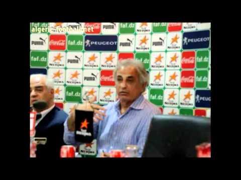 [Algérie] Conférence de presse de Vahid Halilhodzic : partie 1