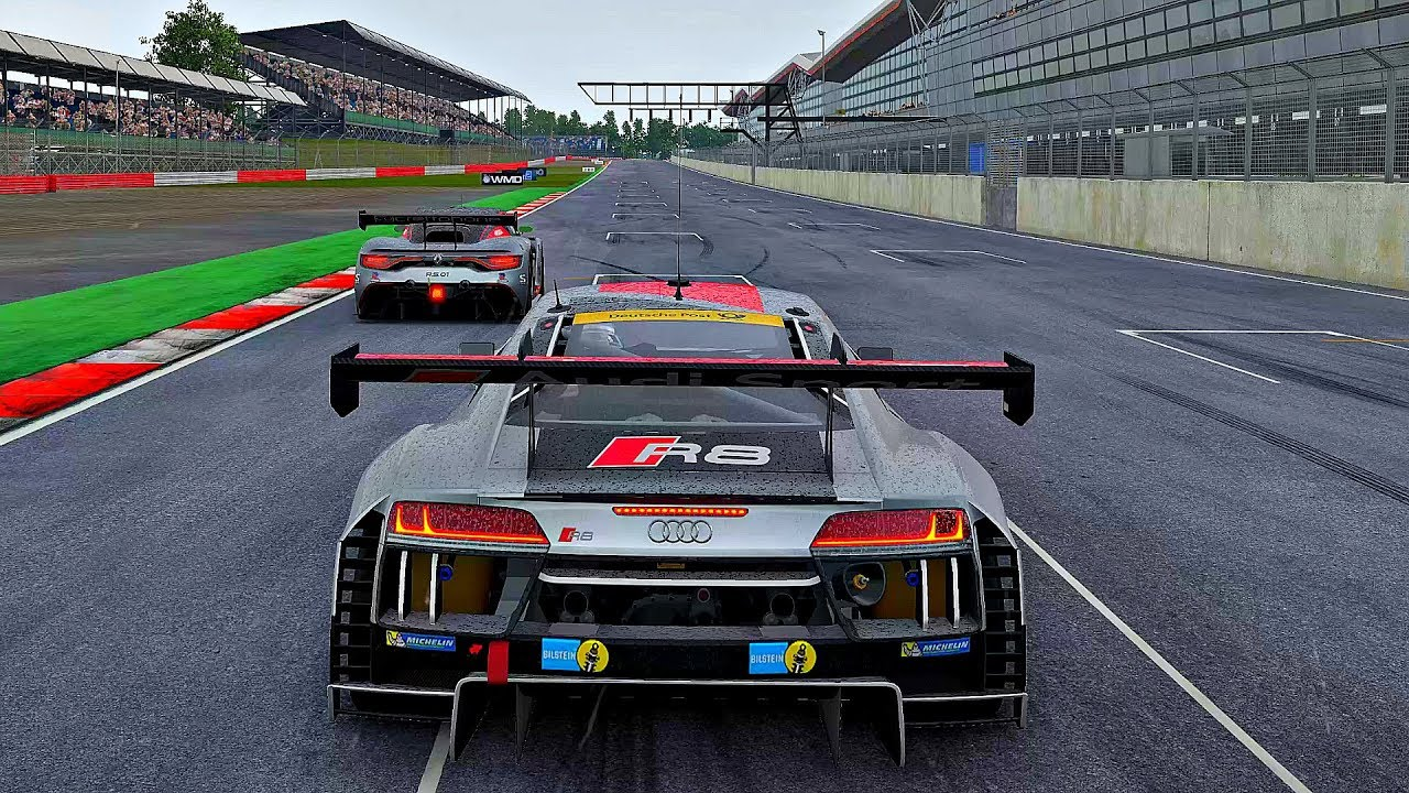 project cars 2 gameplay audi r8 lms silverstone 4k 60fps ultra youtube. Black Bedroom Furniture Sets. Home Design Ideas