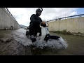 GoPro: honda cubs c50 c90 river ride (terminator II style)[Eng subs]