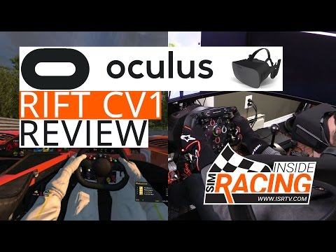 Oculus Rift CV1 VR Headset Sim Racing Review