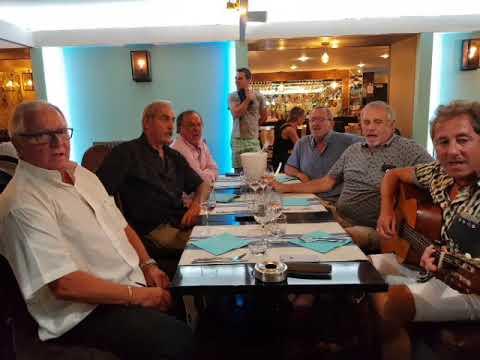 Chant basque Biarritz (64) le 22/08/2018  dédié  au village de joux (69) Rhône France