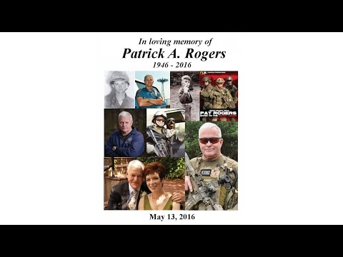 Pat Rogers Memorial Service - May 13, 2016
