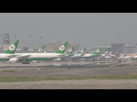 🔴 Taipei Taoyuan Airport 台北桃園機場 with Air traffic control