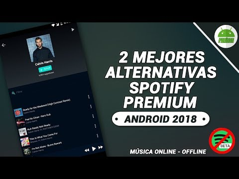 2 Alternativas a SPOTIFY PREMIUM 2018 | Escuchar Música ONLINE y OFFLINE