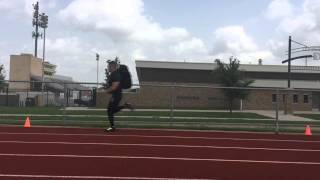 US Army Research: Loaded Sprint Test