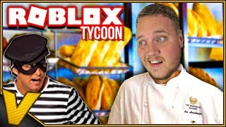 THE BAKERY WAS ROBBED 3 TIMES! :: Bakery Tycoon Roblox english