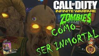 TRUCO como ser INMORTAL en SPACELAND  zombies  Call Of Duty  INFINITE WARFARE