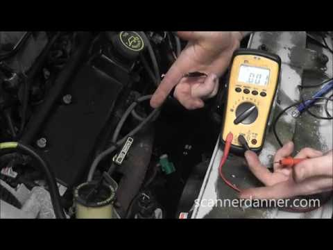 Ford O2 Sensor Testing - wiring tests (no bias voltage)