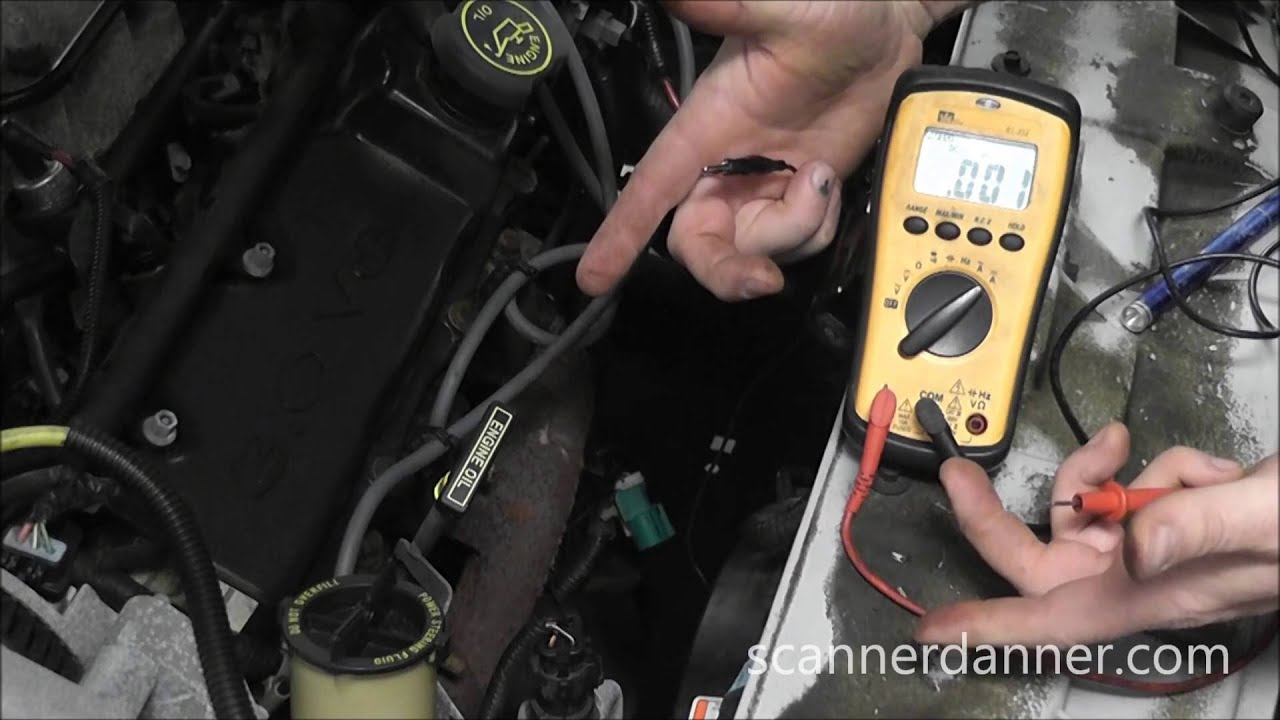 Ford O2 Sensor Testing Wiring Tests No Bias Voltage Youtube