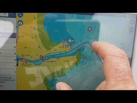 Using Navionics App On A Boat Ipad Or Tablet