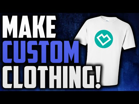 How To Make A CUSTOM Clothing Line!
