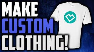How To Make A CUSTOM Clothing Line!