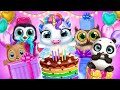 Little Pony's Birthday Party! Unboxing Gifts🎁My Baby Unicorn | TutoTOONS Cartoons & Games for Kids