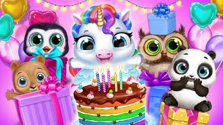 Little Pony's Birthday Party! Unboxing Gifts🎁 My Baby Unicorn | TutoTOONS Cartoons & Games for Kids