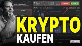Übersicht: Der Ablauf wie man jede Kryptowährung kauft