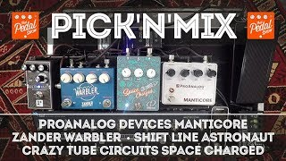 TPS Pick'N'Mix – ProAnalog Manticore, Crazy Tube Space Charged, Zander Warbler, Shift Line Astronaut